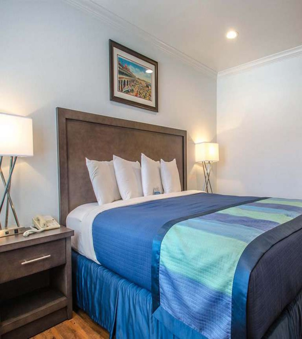 EACH WELL-APPOINTED ROOM IS IDEAL FOR LEISURE AND BUSINESS TRAVELERS