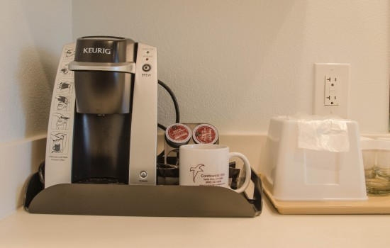Welcome To The Continental Inn - Keurig Coffee Maker